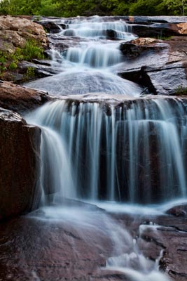 Cascades along the Westfield - photo by Dan Minicucci